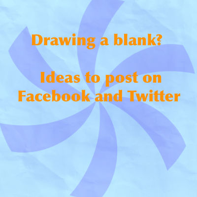 What to Post on Facebook and Twitter