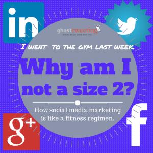 how social media marketing is like a fitness regiment