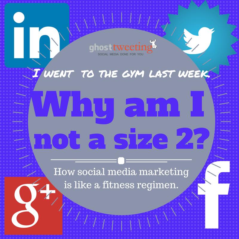 How social meda marketing is like a fitness regimen