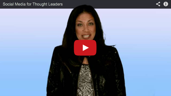 social media for thought leaders