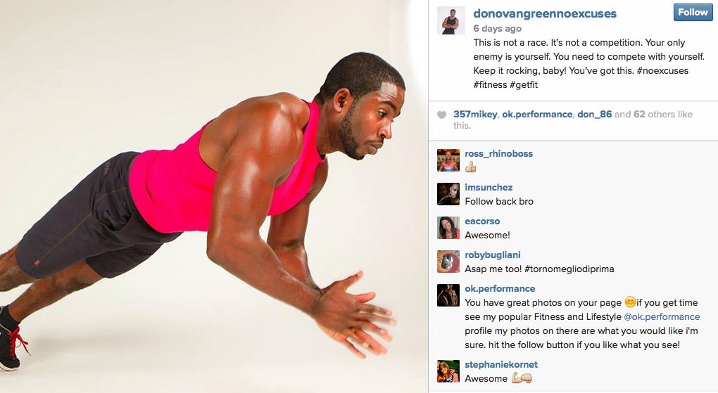 Donovan Green Instagram