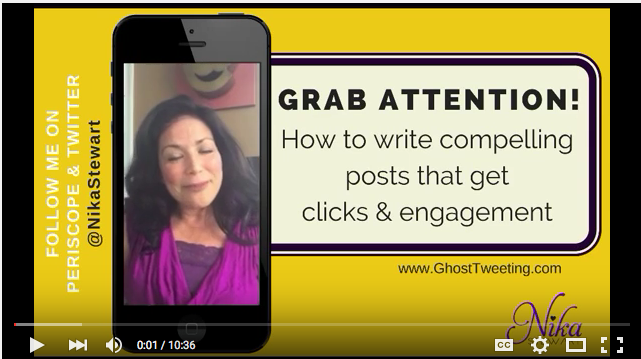 Write social media posts that get clicks and engagement