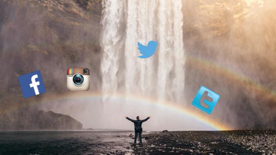 social updates