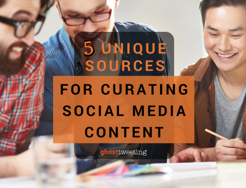 Five Unique Sources For Curating Social Media Content