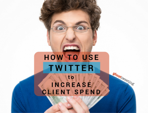 How to Use Twitter to Increase What People Want to Spend with You
