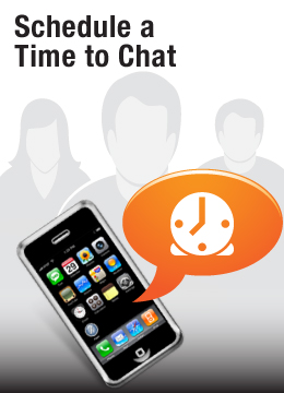 schedule a time to chat