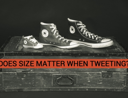 DOES SIZE MATTER WHEN TWEETING?