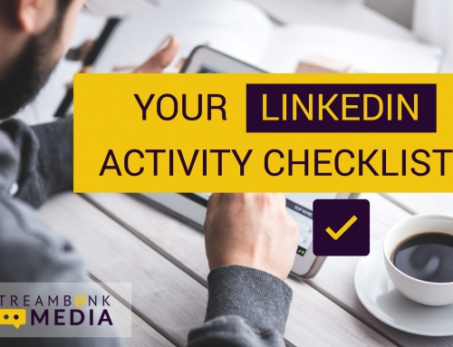 Your LinkedIn Activity Checklist